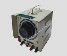 Variable Transformer Single Phase, Close - Project - Enclosed